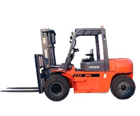 維麥科斯7噸內燃平衡柴油叉車CPCD70
