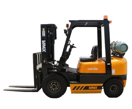 維麥科斯2.5噸液化石油天然氣手動擋叉車CPQY25